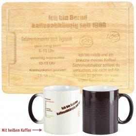Geschenkset - Kaffee-abhängig