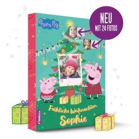 Peppa Pig Adventskalender mit Personalisierung