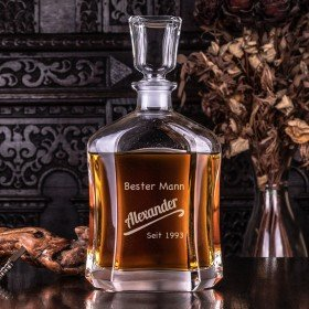 Whiskykaraffe - Bester Mann