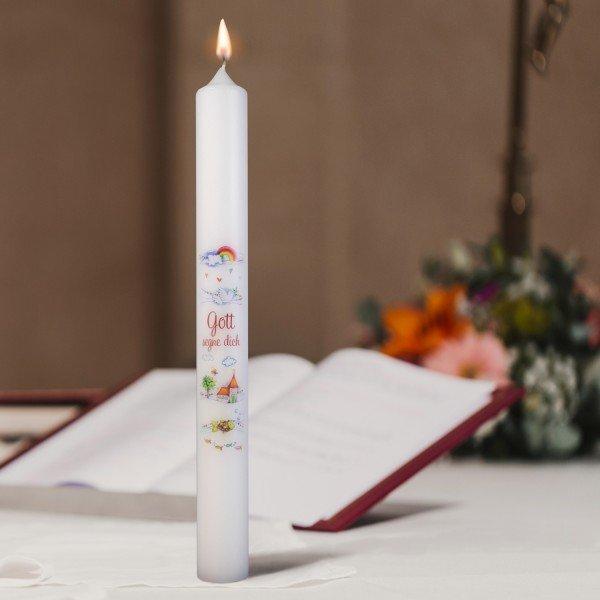 Kerze Gott segne Dich