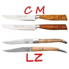 Steakmesser mit Initialen-Gravur