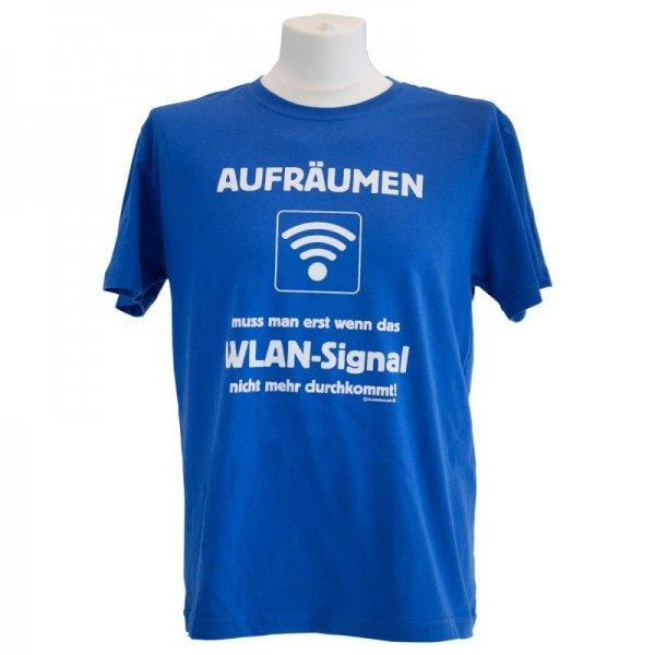 T-Shirt - Aufräumen WLAN Signal