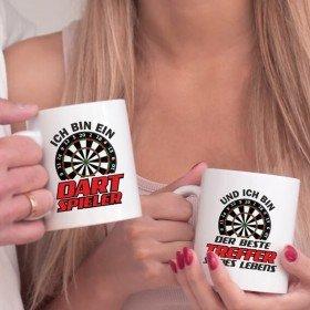 Tassen Set - Ich bin ein Dartspieler