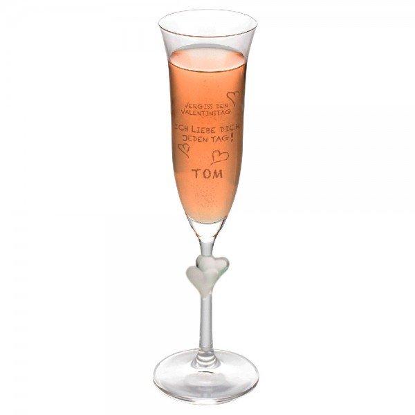 sektglas vergiss den valentinstag
