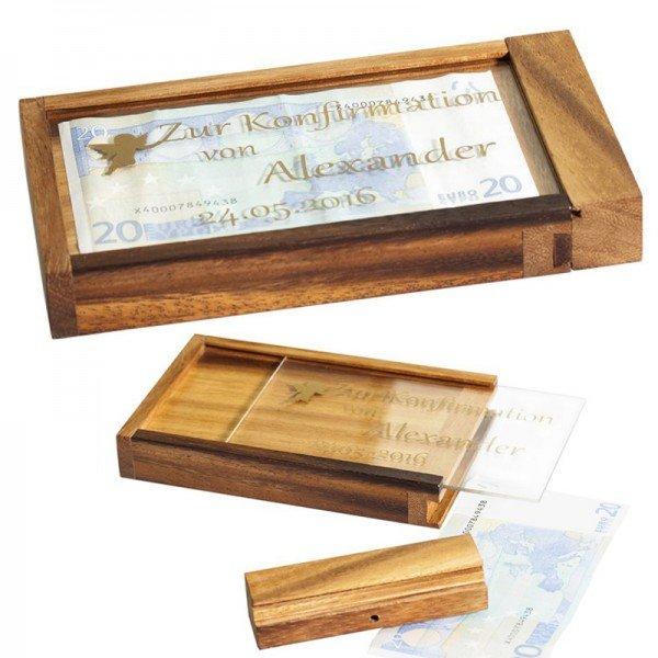 Magische Geldgeschenkebox - Konfirmation