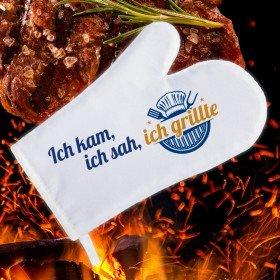 Grillhandschuh - Ich kam, sah und grillte