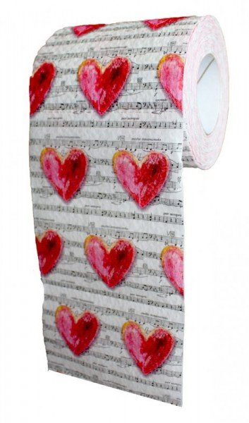 Toilettenpapier - Love Song (1 Rolle)