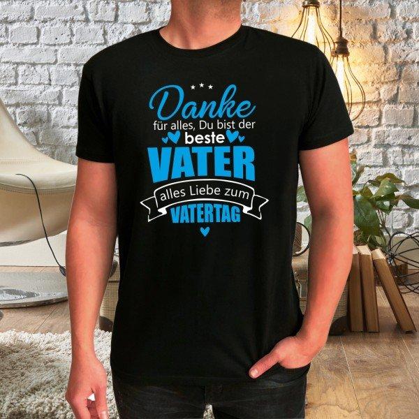 T-Shirt zum Vatertag - Danke Papa