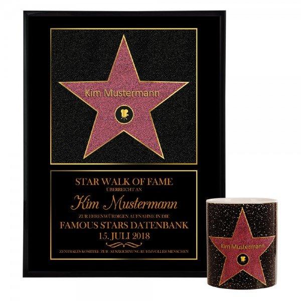 Star of Fame - personalisiertes Wandbild