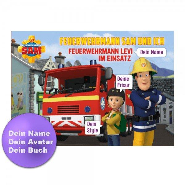 - Personalisiertes Kinderbuch Feuerwehrmann Sam und Du - Onlineshop Geschenke24