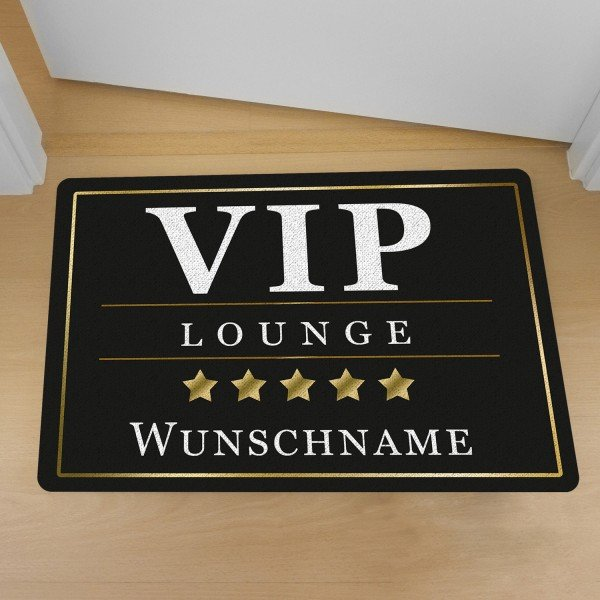 Fußmatte VIP mit Wunschnamen