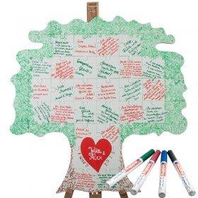 Holz Puzzle Baum zum Beschriften