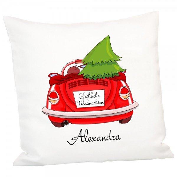 Individuellwohnzubehör - Personalisiertes Kissen mit Weihnachtsmotiv - Onlineshop Geschenke24