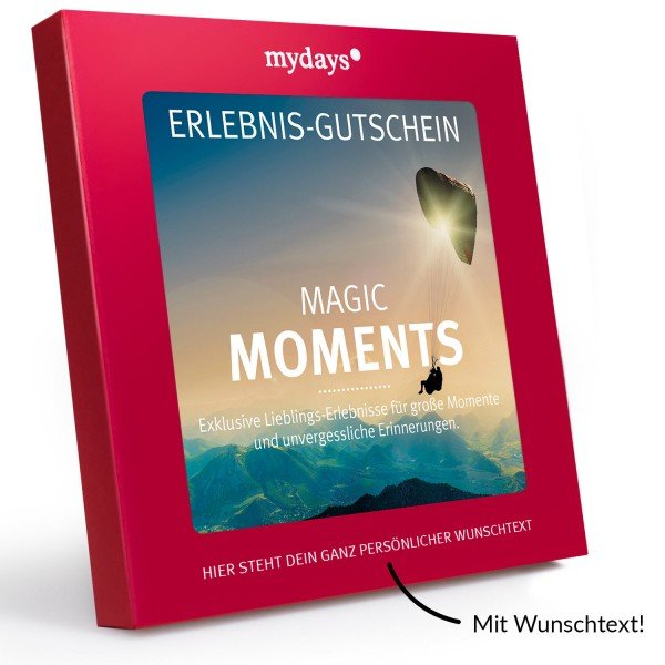 Magic Box Magic Moments von mydays