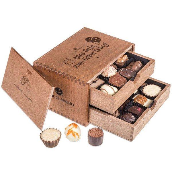 Chocolaterie zum Geburtstag mit Personalisierung
