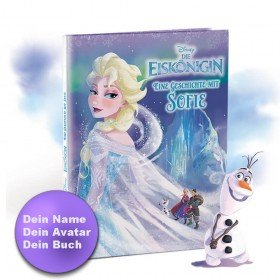 Personalisiertes Kinderbuch - Die Eiskönigin und Du