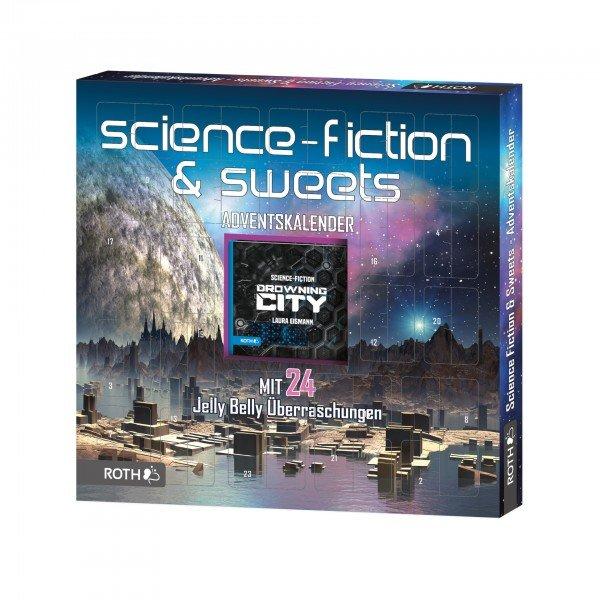 Adventskalender - Science Fiction Lesespaß und 24 x Sweets