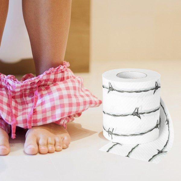 Witzigspassgeschenke - Toilettenpapier Stacheldraht - Onlineshop Geschenke24