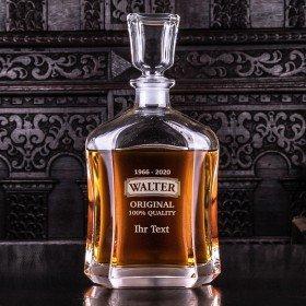 Whiskykaraffe Original mit Wunschtext
