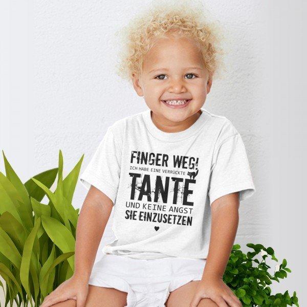 - Kindershirt Verrückte Tante - Onlineshop Geschenke24
