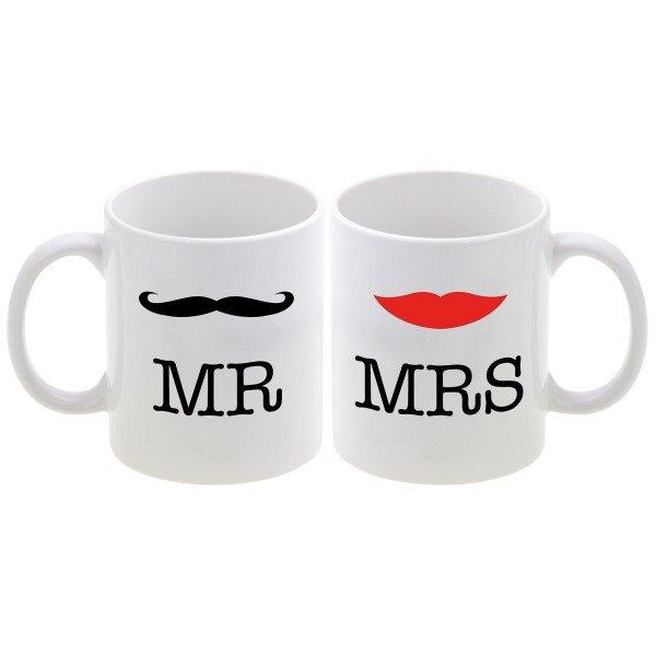 Tassen Set - Mr und Mrs
