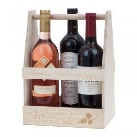 Holzkasten - Weinträger