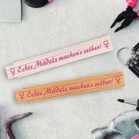 Zollstock - Echte Mädels