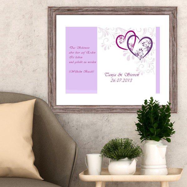 Bild - Liebesbrief mit Personalisierung