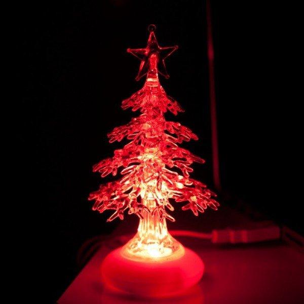 USB - Weihnachtsbaum mit LED