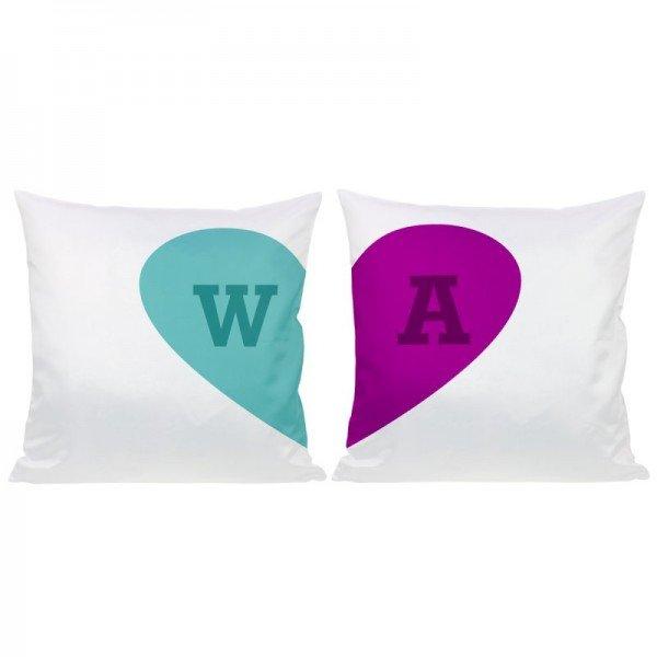 - Kissen Set Herzhälften - Onlineshop Geschenke24