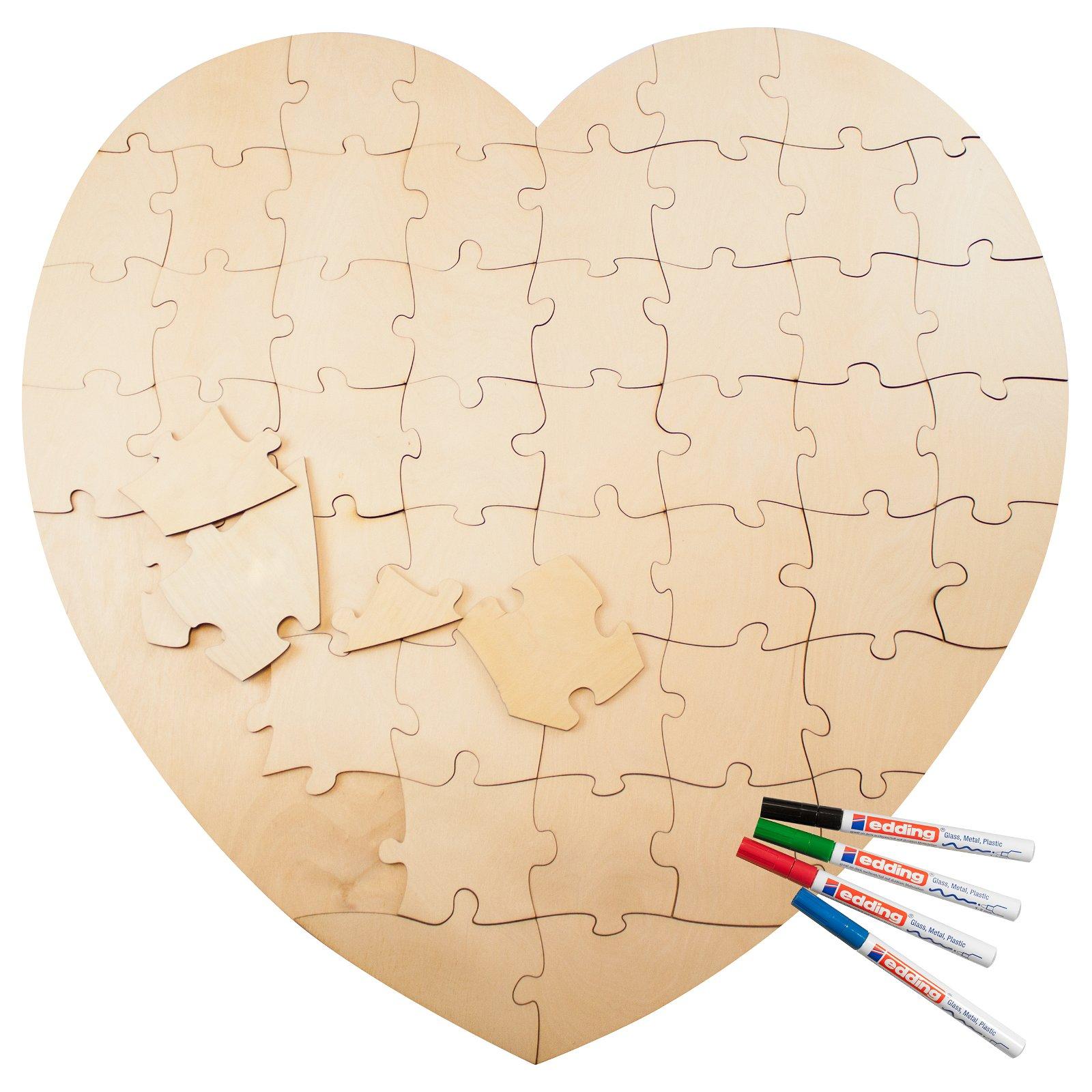 Alternatives Gastebuch Herz