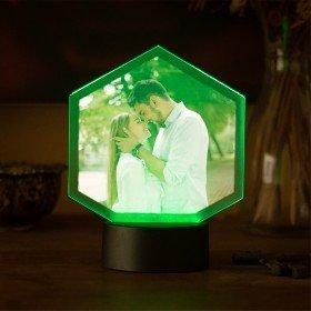 LED-Leuchte mit Fotodruck