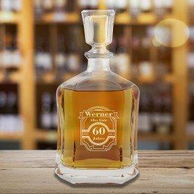 Whiskykaraffe Runder Geburtstag