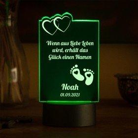 LED-Leuchte zur Geburt - Füße