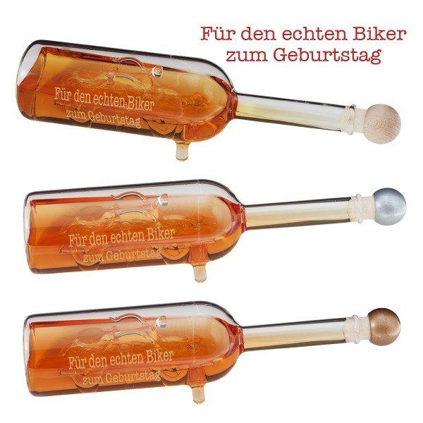 Chopper-Geschenkflasche mit Gravur