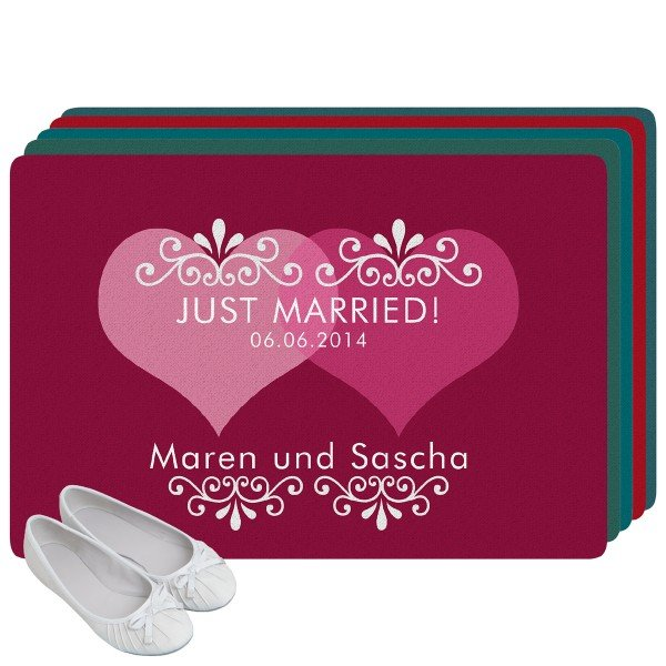 Fußmatte - Just Married