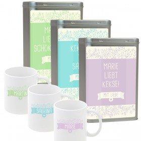 Keksdose und Tasse - Keksliebhaber