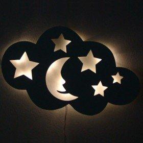 Schlummerlicht - Wolke mit Wunschname
