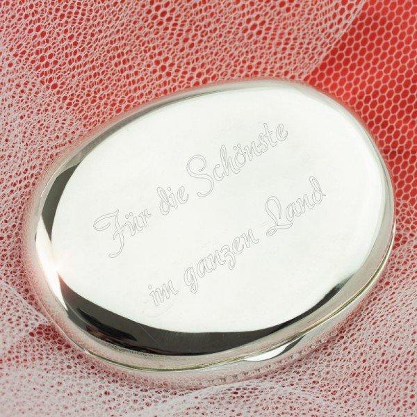 Taschenspiegel mit Gravur