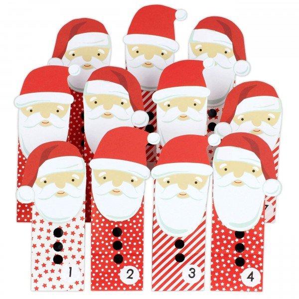 Adventskalender zum Befüllen - Weihnachtsmann