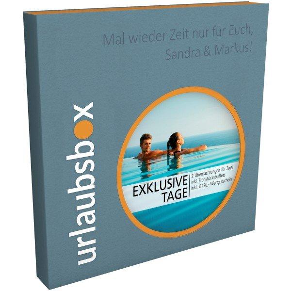 Exklusive Tage - Urlaubsbox