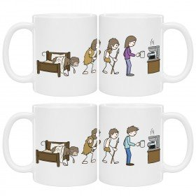 Tasse - Kaffee Evolution