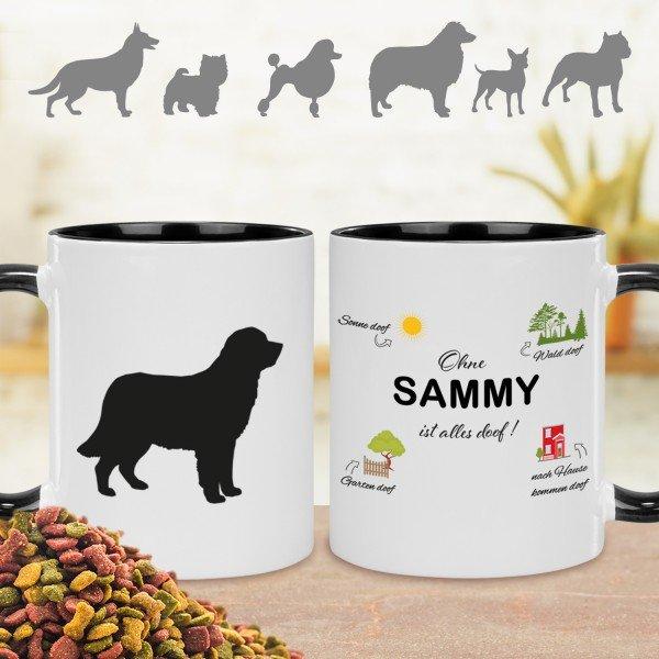Tasse - Ohne Hund ist alles doof