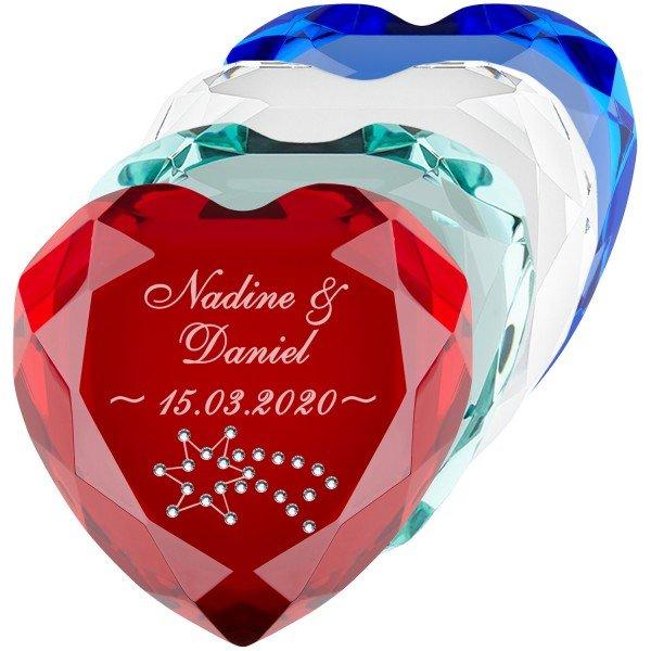Herz-Diamant Sternschnuppe
