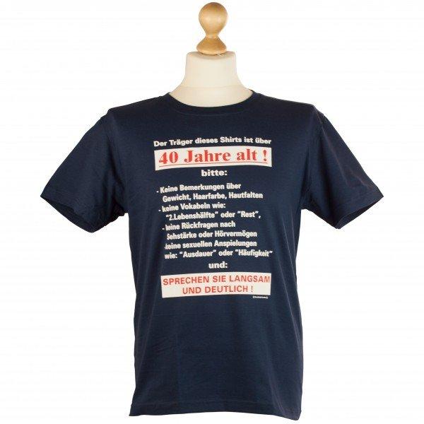 T-Shirt - Über 40 Jahre
