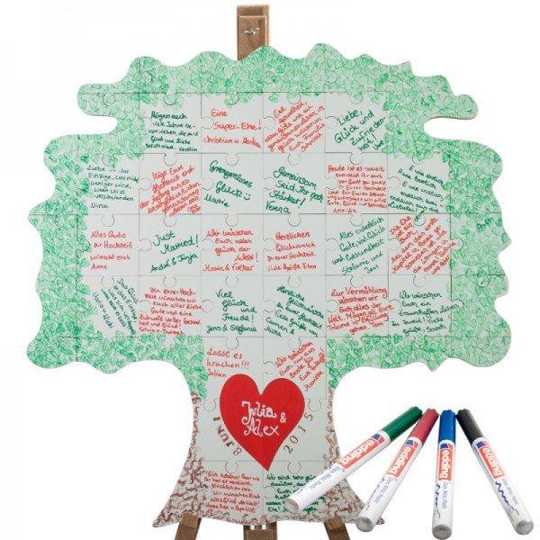 Holz Puzzle Baum