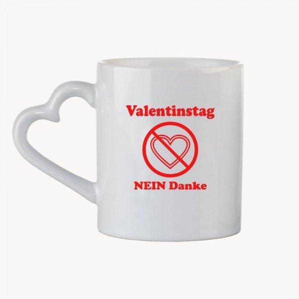 - Tasse Valentinstag Nein Danke - Onlineshop Geschenke24