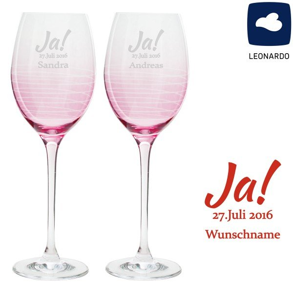 Weinglas Set - Ja! von Leonardo