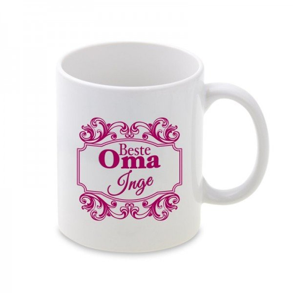 Tasse Ornament Oma