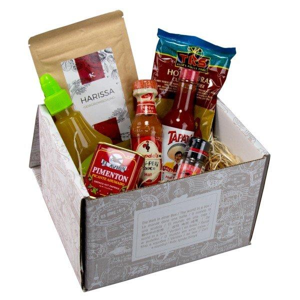 Geschenkebox - Gewürzweltreise